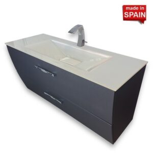 SOCIMOBEL 48 inch LONDON WALL-MOUNT BATHROOM VANITY SOCIMOBEL MADE IN SPAIN