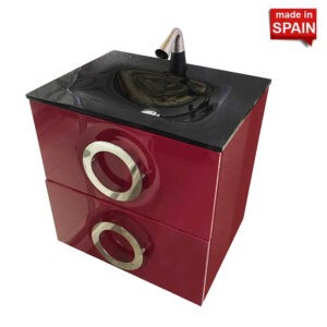 Socimobel ATON 24inch Bathroom Vanity Color Dark Red