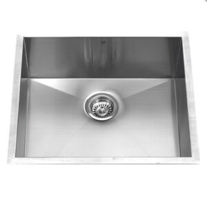 Vigo VG2318C 23-inch Undermount Stainless Steel 16 Gauge Single Bowl Kitchen Sink