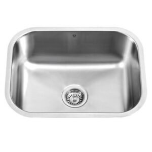 Vigo VG2318K1 23 inch Single Basin Undermount Stainless Steel Kitchen Sink
