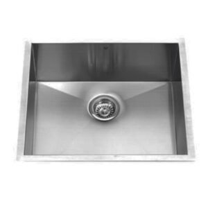 Vigo VG2320C 23 inch Undermount Stainless Steel 16 Gauge Single Bowl Kitchen Sink - top