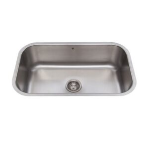 Vigo VG3019CK1 30 Single Basin Undermount Stainless Steel Kitchen Sink
