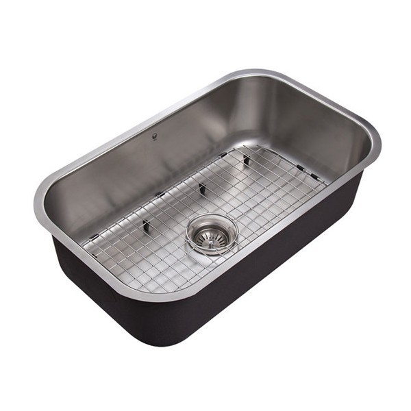 Vigo VG3019CK1 30 Single Basin Undermount Stainless Steel Kitchen ...