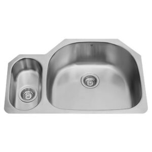Vigo VG3321R 32-inch Undermount Stainless Steel 18 Gauge Double Bowl Kitchen Sink