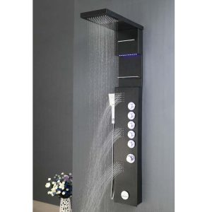 APOLLO_ Shower Panel MARBELLA ASP-3557-BL