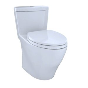Toto MS654114MF 01 1.6GPF and 0.9GPF Aquia One-Piece Toilet Cotton