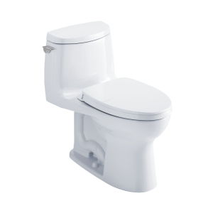 Toto Ultramax Ii One-piece Elongated 1.28 Gpf Toilet With Cefiontect Cotton White