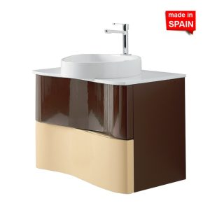 Socimobel 32 Inch Singapur 03 Chocolate Bathroom Vanity