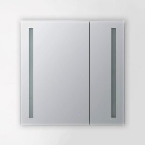 AQUADOM Royal Basic 30 inch to 30 inch LED Medicine Cabinet With Dimmer