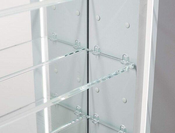 AQUADOM Signature Royale 24 inch x 30 inch LED Medicine Cabinet Left Hinge