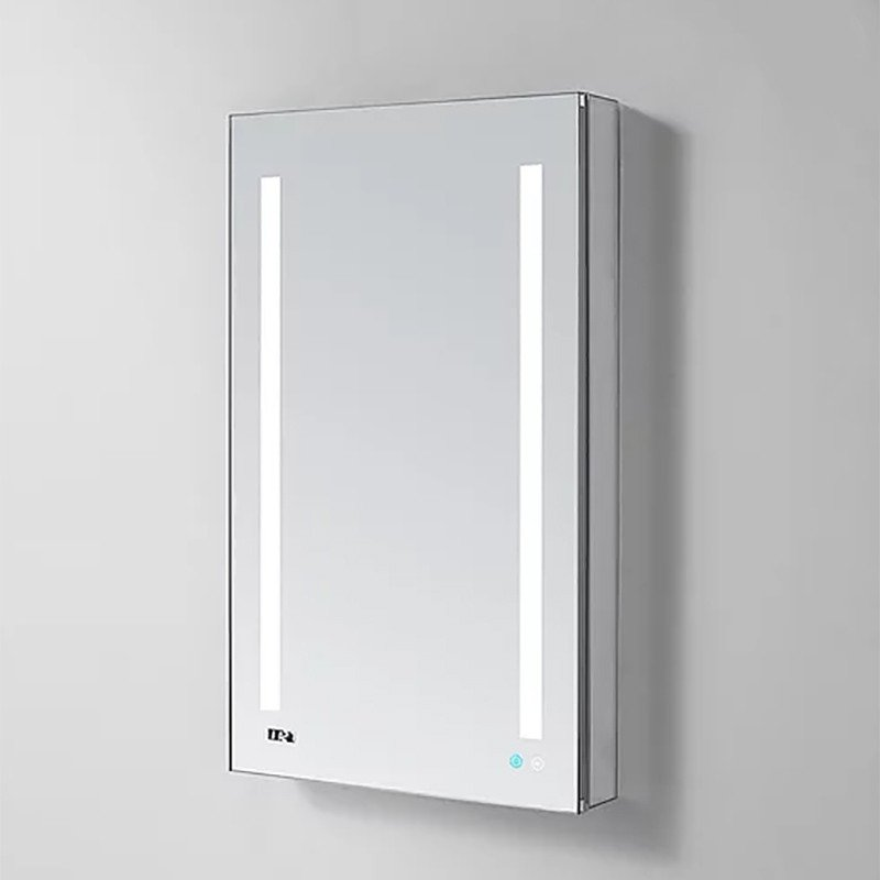 AQUADOM Signature Royale 24inch x 30 inch Right Hinge LED Medicine Cabinet
