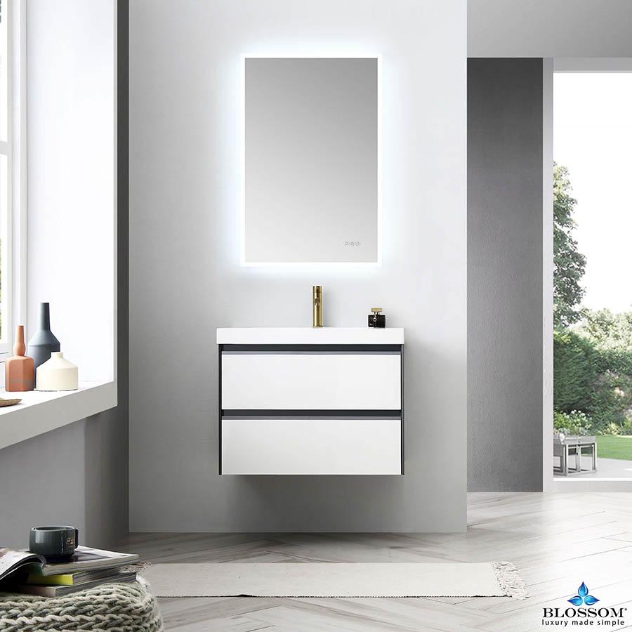 Blossom ✔️ BERLIN 30 Inch Floating Modern Bathroom Vanity