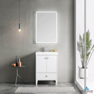 Blossom LYON 24 Inch Bathroom Vanity Color Matte White