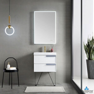 Blossom SOFIA 24 Inch Wall Mount Bathroom Vanity Color Matte White