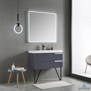 Blossom SOFIA 36 Inch Floating Bathroom Vanity Color Matte Grey