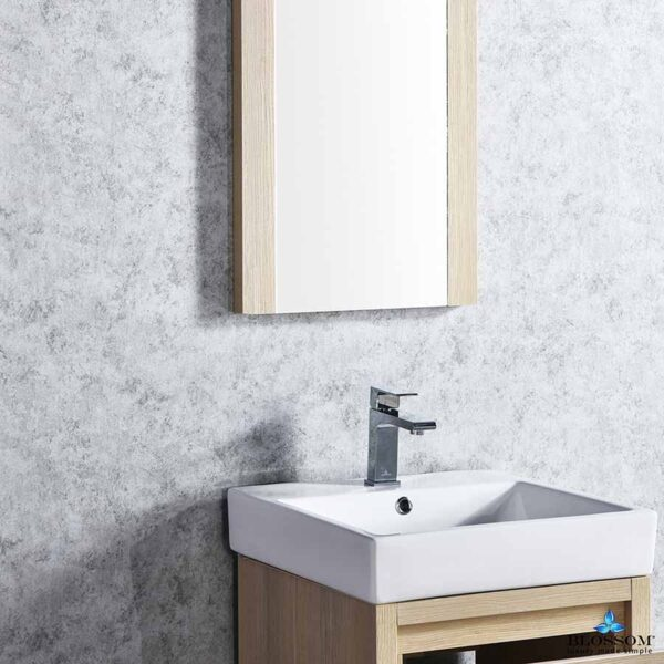 Blossom Vanity 20 Inch MILAN Bathroom Cabinet Color Briccole Oak