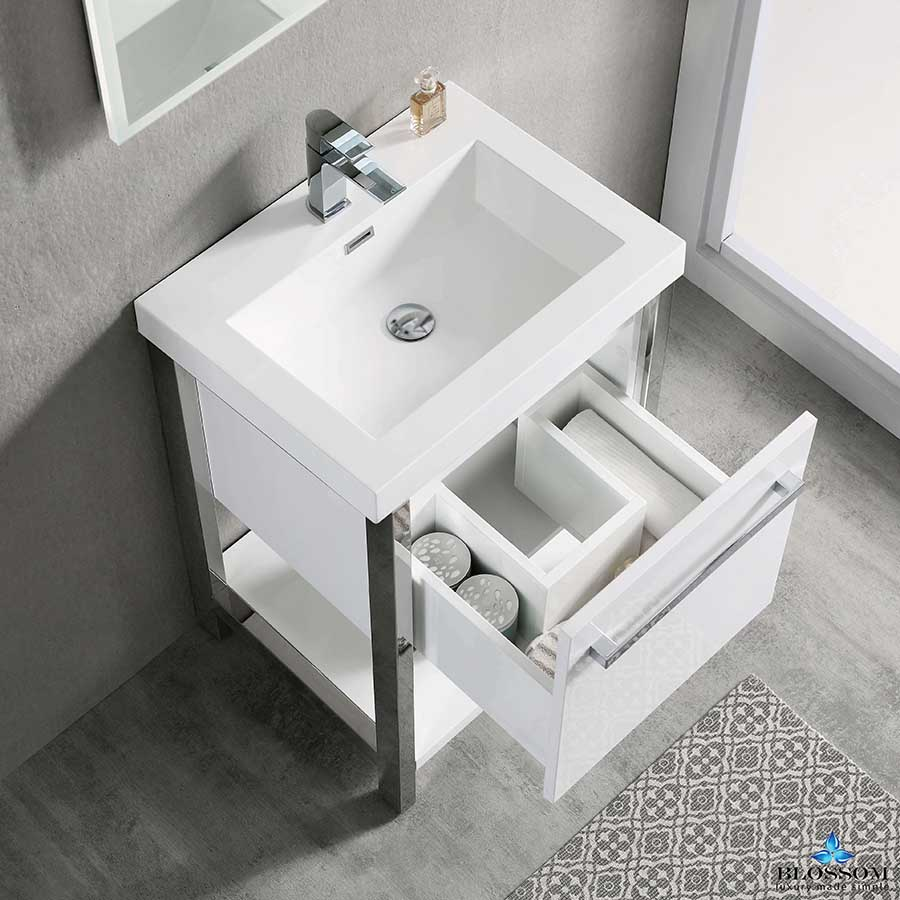 20 inch bathroom vanity with sink