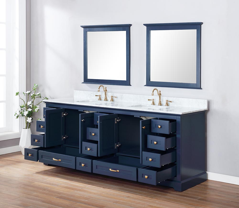 84 Inch Double Sink Bathroom Vanity - Bathroom Design Ideas