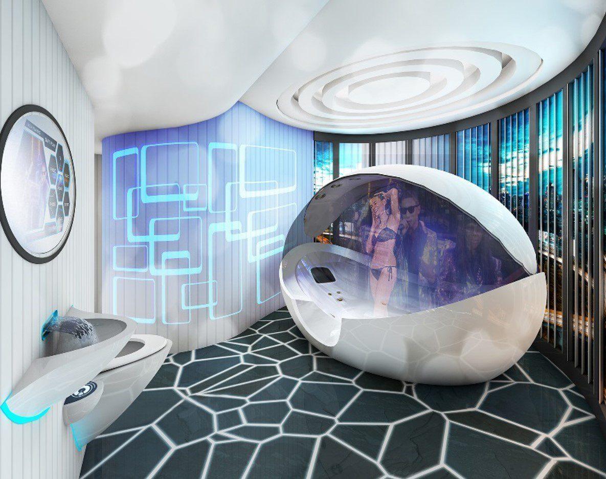 electronic bathroom