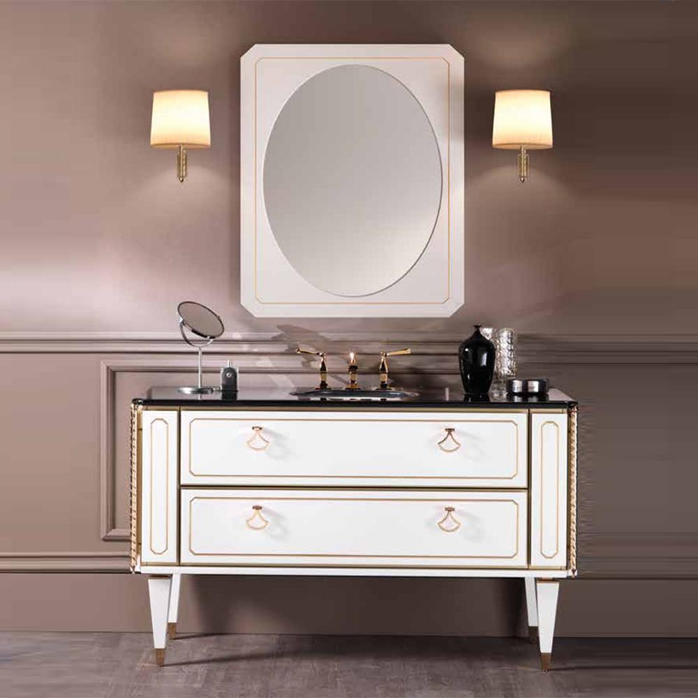 mia italia petit 01 ⚜️ 48 inch unique bathroom vanity color matte white