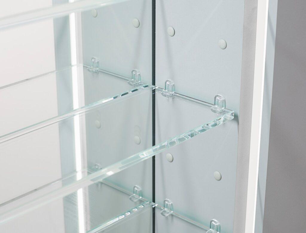 Aquadom Royale Plus 40 Inch to 36 Inch Led Medicine Cabinet RP-4036