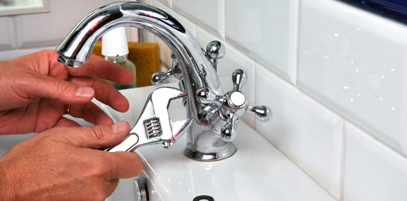 Faucet installation-