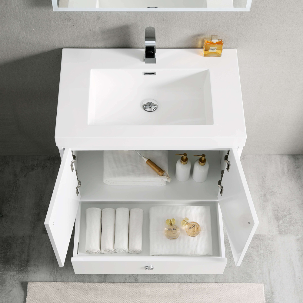 Blossom LYON 30 Inch Color Matte White Modern Bathroom Vanity