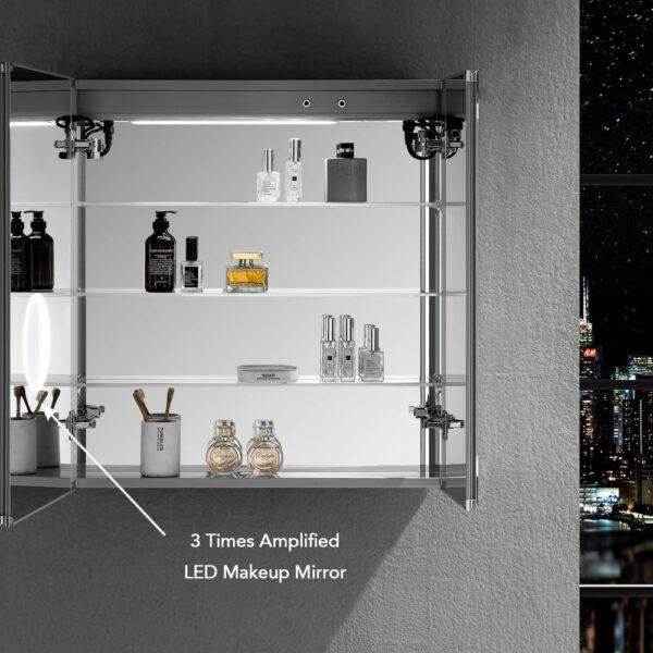 Blossom Sirius 30 x 32 Inch LED Medicine Cabinet