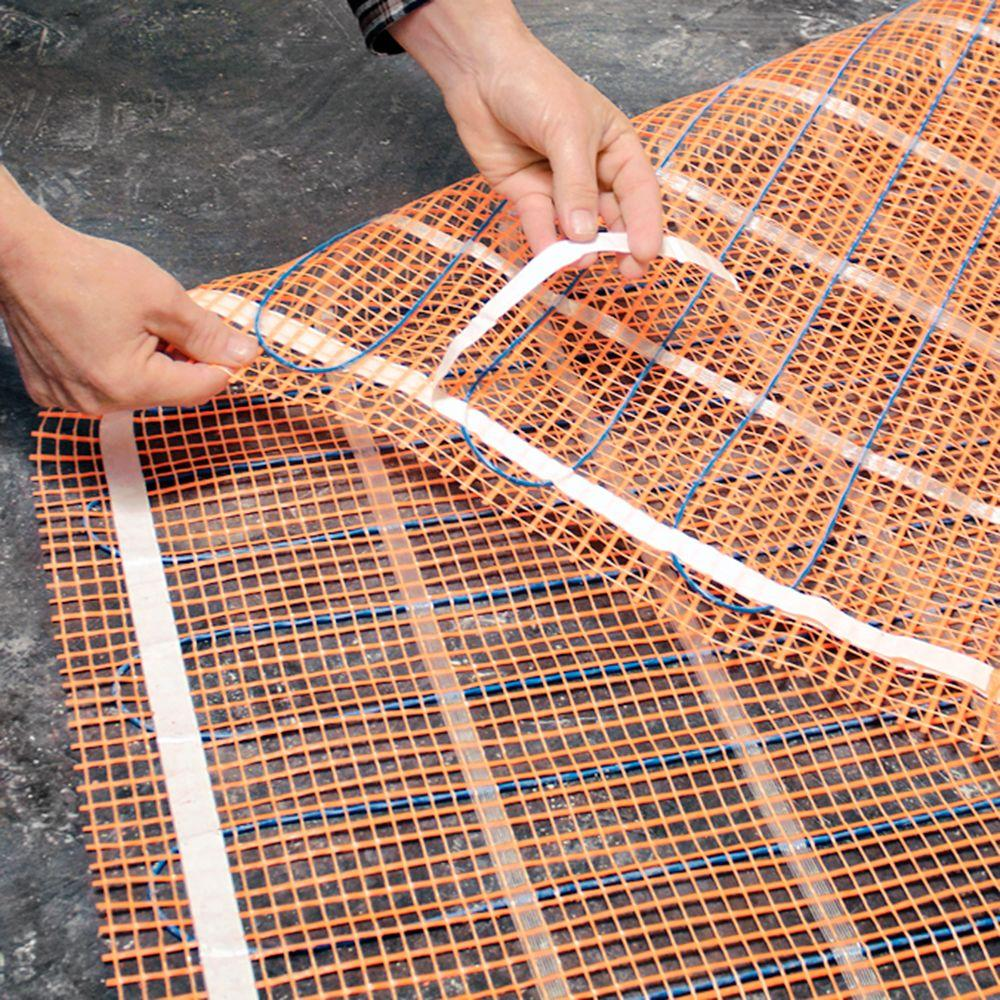 Electric heating floor system