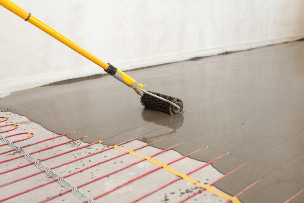 Electric heating floor