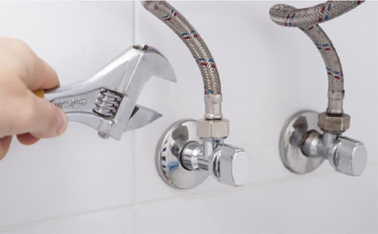 Installation faucet