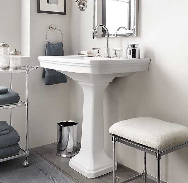 Classic pedestal sinks