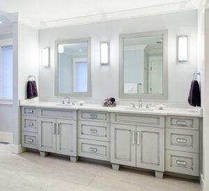 Long Bathroom Vanity