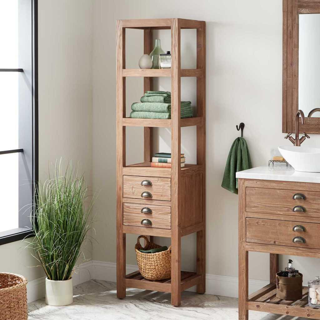 storage bathroom vanities