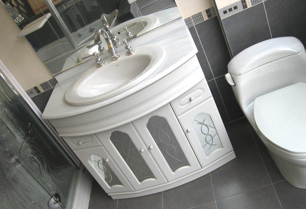 Consider updating your bathroom fixtures and vanity