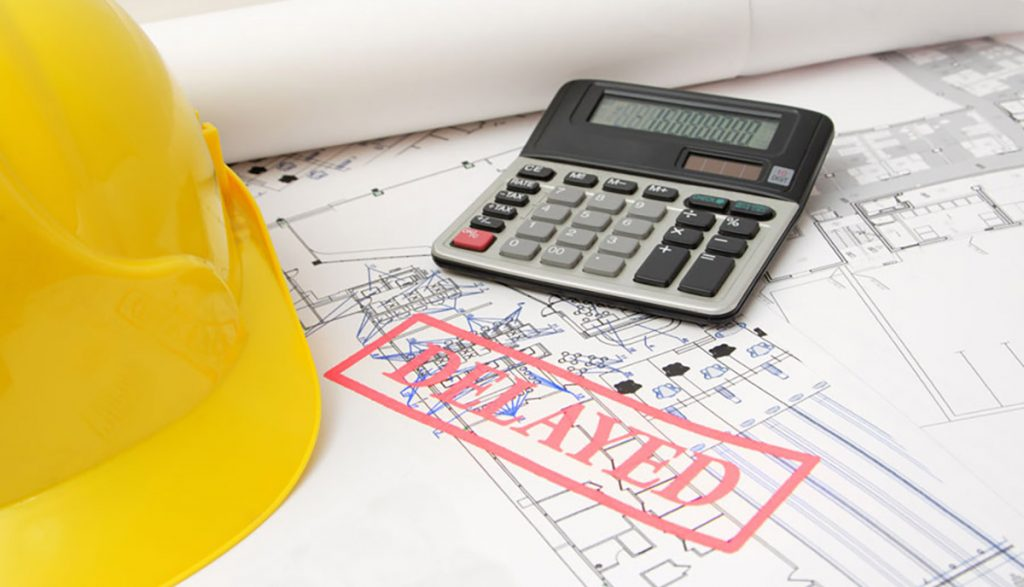 Delays can be costly if you are working with contractors